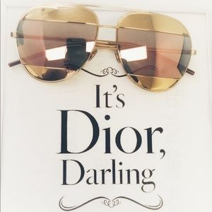 Unisex Dior Aviator Sunglasses 🕶